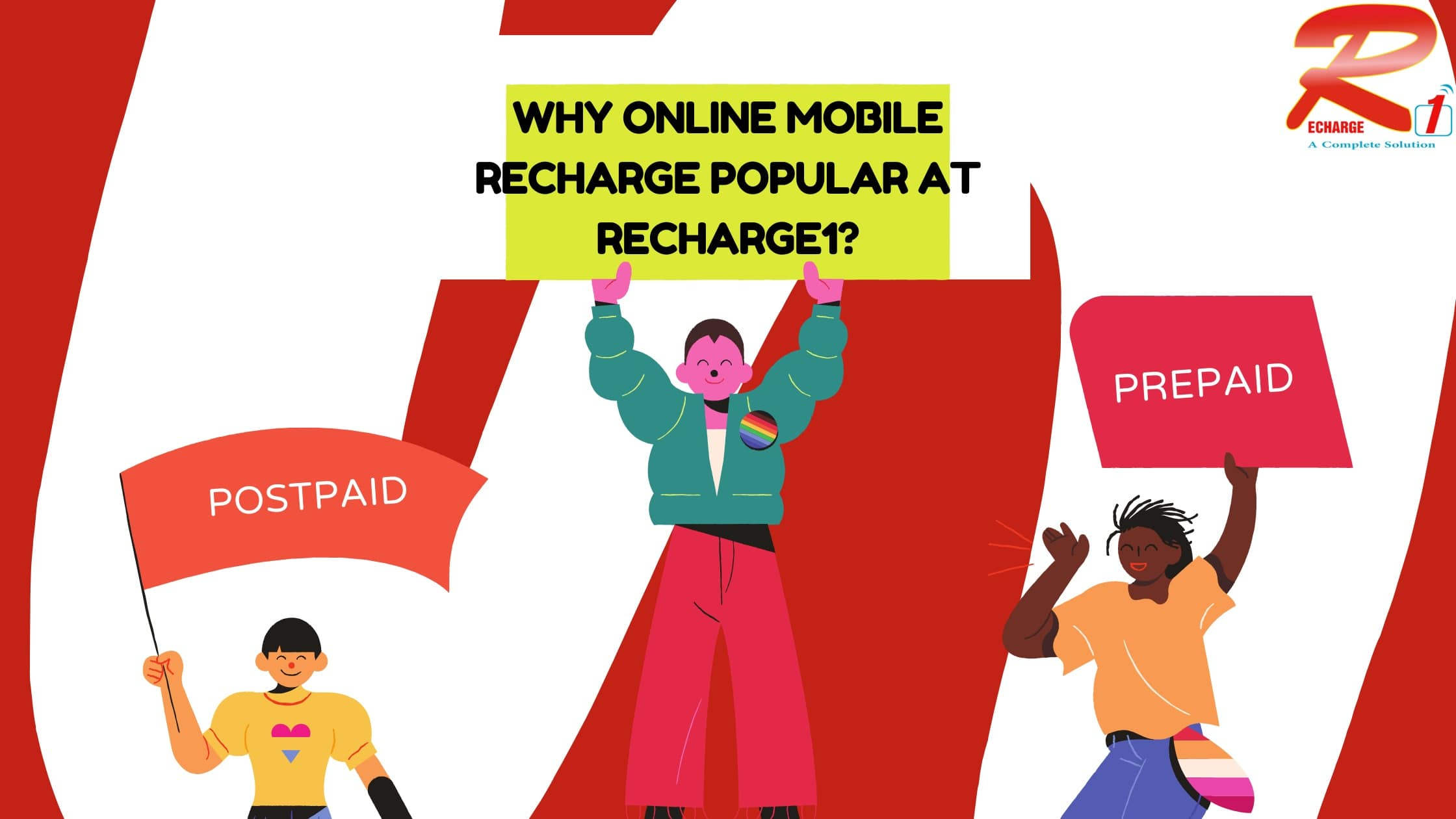 Why Online Mobile Recharge Is Popular At Recharge1?
