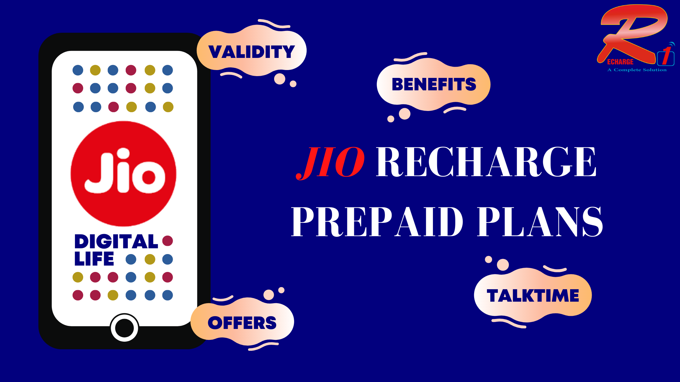 Jio Prepaid Recharge Plans And Offers
