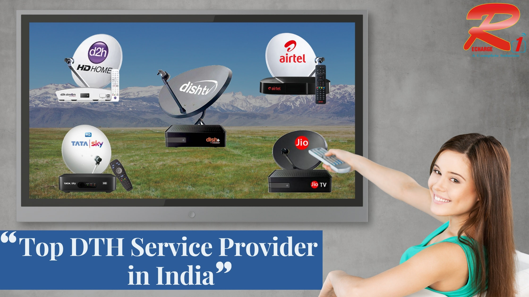 5 Top DTH Service Providers in India